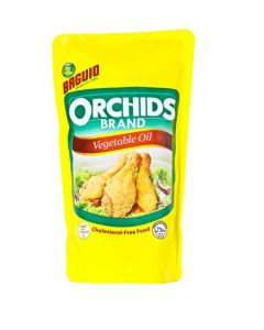 Baguio Orchids Brand Vegetable Oil 900ml