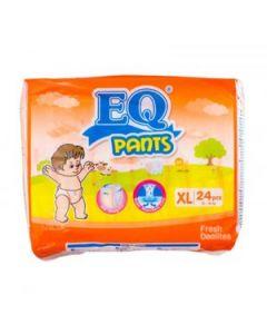 EQ Diaper Pants XL 24pcs