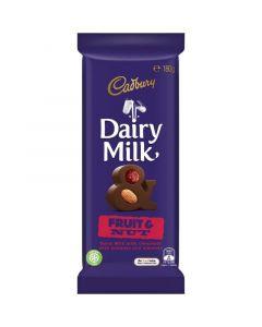 Cadbury Dairy Fruit and Nut 180g
