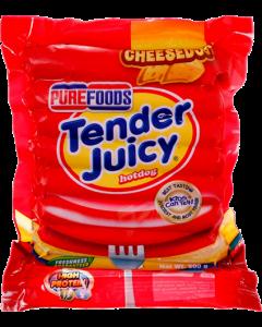 Purefoods Tender Juicy Cheesedog 500g