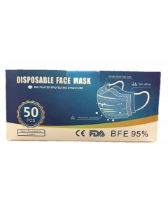 Dsiposable Face Mask Multilayer Protective Structure