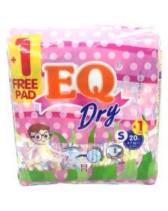 EQ Diaper Dy Small 20+1pcs