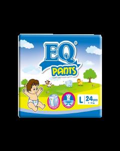 EQ Diaper Pants Large 24pcs