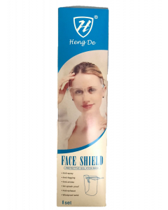 Face Shield Protective Isolation Mask (1pc)