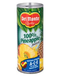 Del Monte Juice Drink Pineapple  240ml Canned