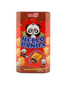 Meiji Hello Panda Chocolate Filled Biscuit 43g