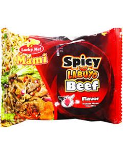 Lucky Me Instant Noodles Spicy Beef 50g