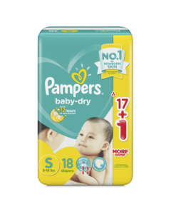 Pampers Diaper Baby Dry Small 18pcs