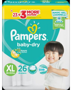 Pampers Diaper Baby Dry Pants XL 26pcs