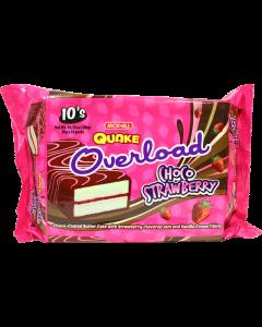 Quake Overload Choco Strawberry 30g 10pcs