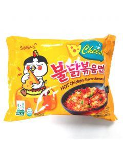 Samyang Hot Chicken & Cheese Flavor Ramen 140g