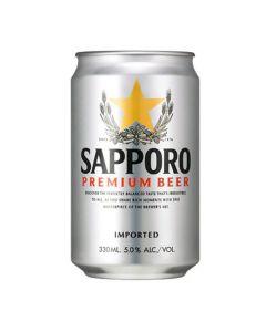 Sapporo Premium Beer 330ml 6pcs