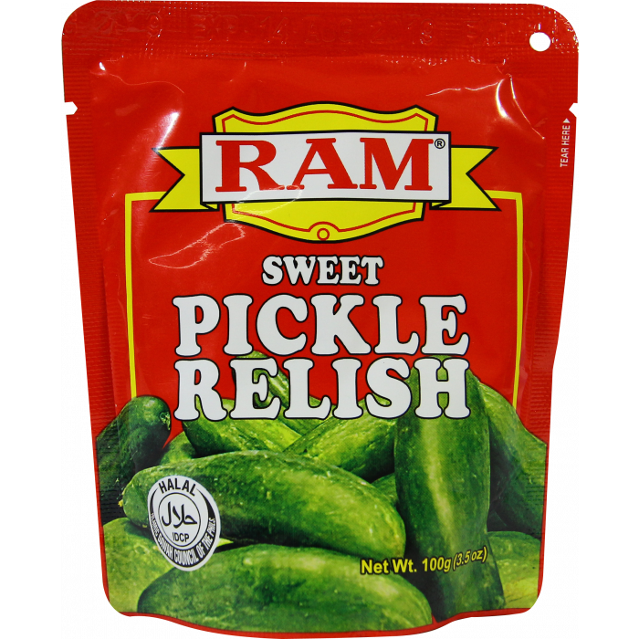 Ram Sweet Pickle Relish Pouch 100g